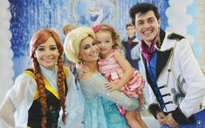 Animação da Festa da Maria Letícia – em Capinzal – SC – Com o Tema Frozen