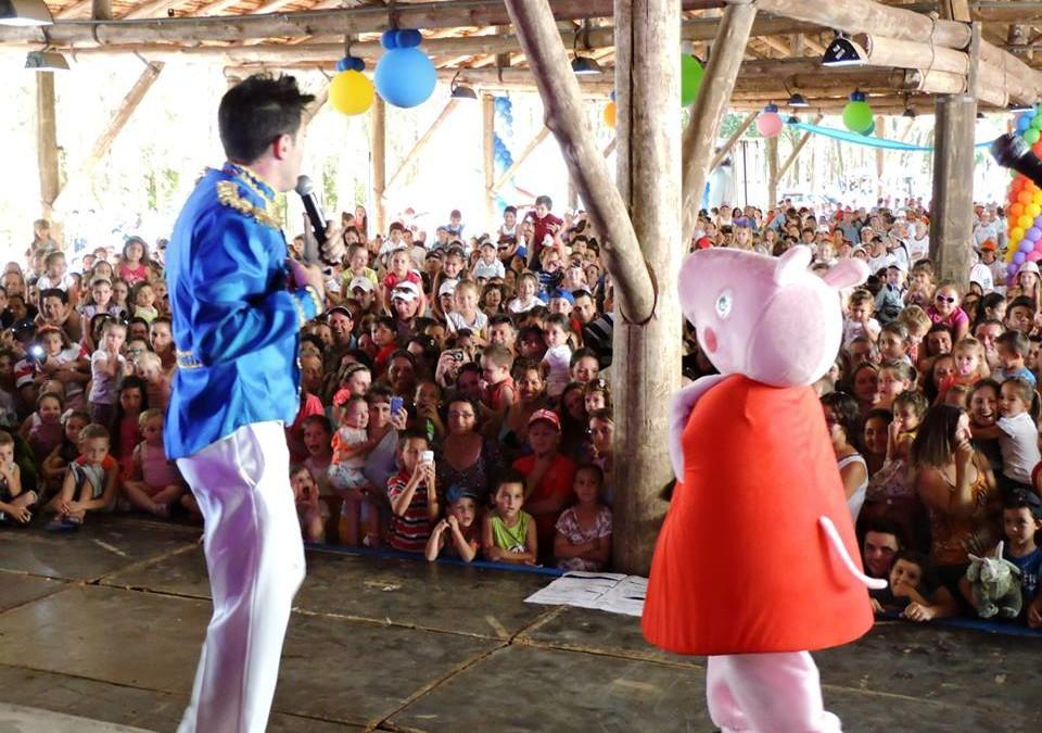 Show da Família Pig, em capinzal