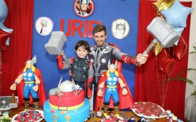 Animação da Festa do Uriel – Em Campos Novos – Com o Tema Thor